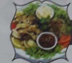 ASSIETTE CHAWARMA POULET acompagné de riz aux lentilles