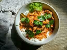 C8. Poulet au curry panaeng/ Chicken with panaebg curry