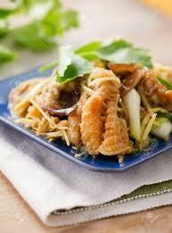 F1. Poisson sauté au gingembre/  Stir- fried fish with ginger