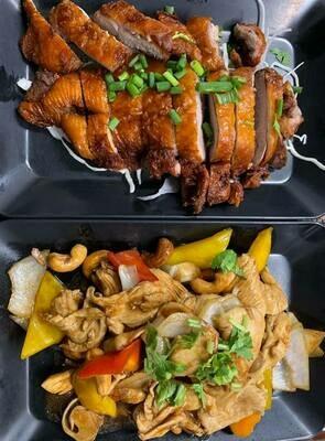 01. Canard frit avec sauce / Fried duck with sauce