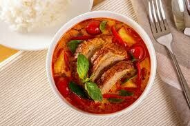 05. Canard au curry rouge/ Duck with red curry