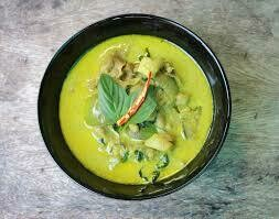 04. Canard au curry vert/ Duck with green curry