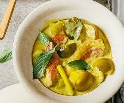 07. Canard au curry jaune/ Duck with yellow curry