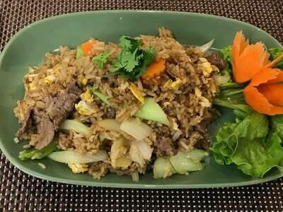 B1. Riz sauté au Boeuf/ Fried rice with beef