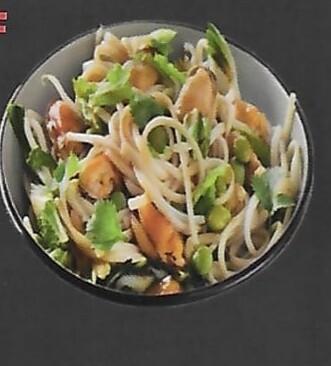 1 Nouilles Udon sautées aux légumes