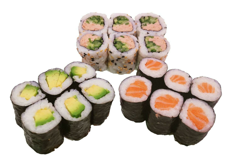 S4 - Lunch maki ( 18pc )