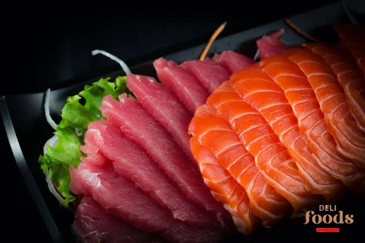 F4 - Saumon et thon