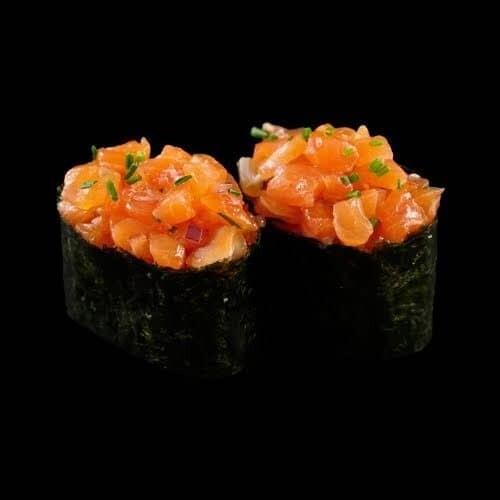 D15 - Tartare saumon oignon