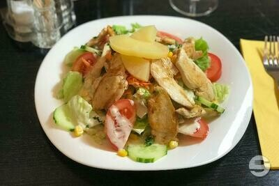 Salade californienne poulet