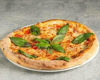 Pizza al basilico