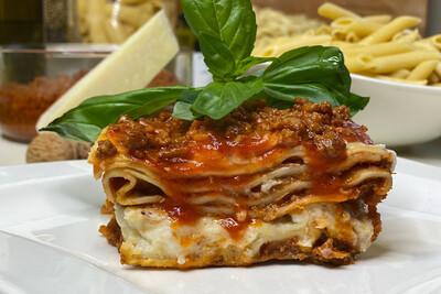 Lasagne gratinées