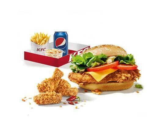 Menu Burger Box Colonel
