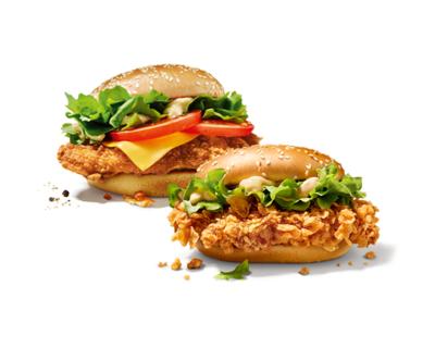 Burger Colonel & Burger Zinger