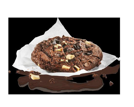 Cookie double chocolat