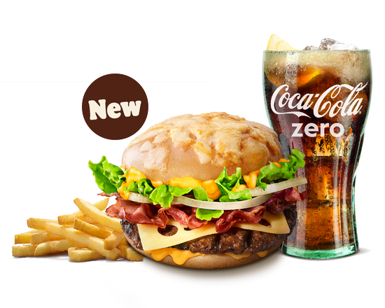 Cheese Lover Beef Double Menu