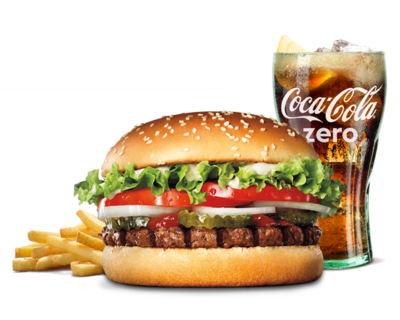Plant-Based Whopper Menu