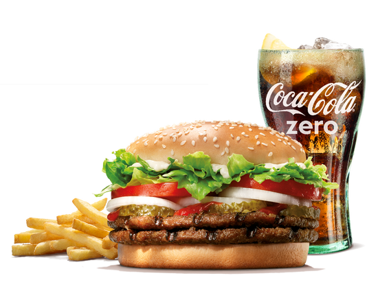 Double Whopper Menu