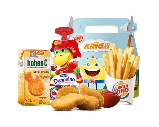 King Junior Meal Plant-Based Nuggets