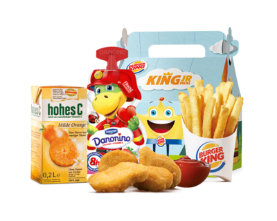 King Junior Meal Nuggets