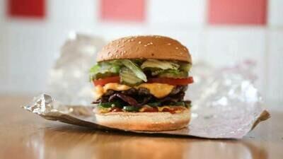 Little bacon-cheeseburger