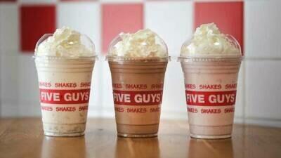 Five Guys shake