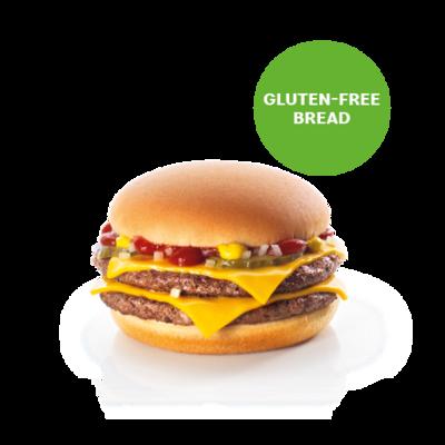 Double Cheeseburger NO Gluten
