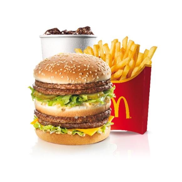 Menu Double Big Mac