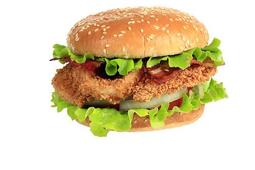 Chicken Burger Bacon