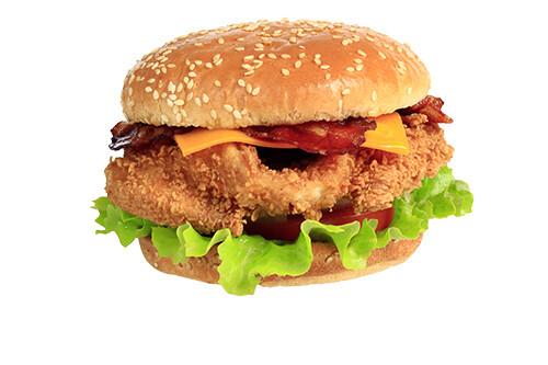 Chicken Burger Cheese/Bacon
