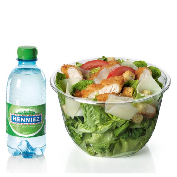 Menu Salade Caesar Crispy