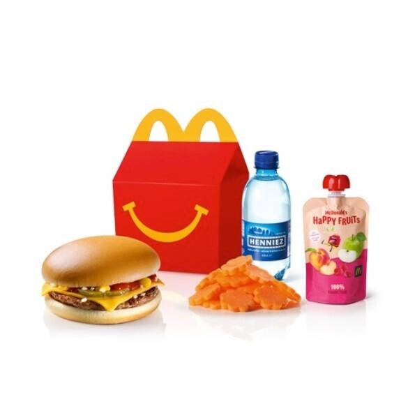 Happy Meal Cheeseburger
