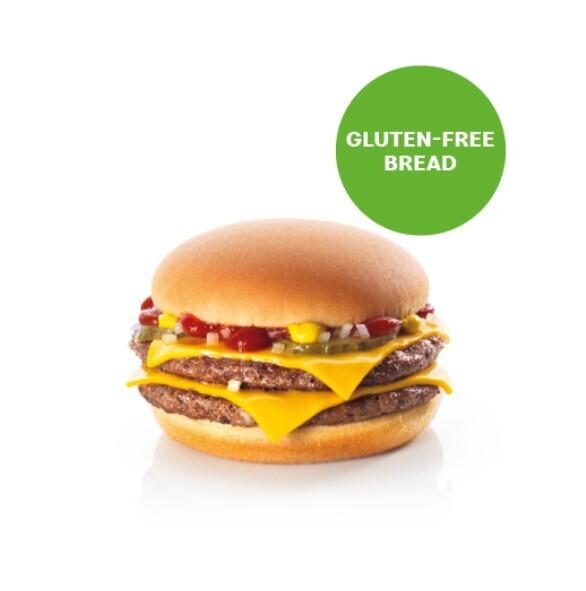 Double Cheeseburger Sans Gluten
