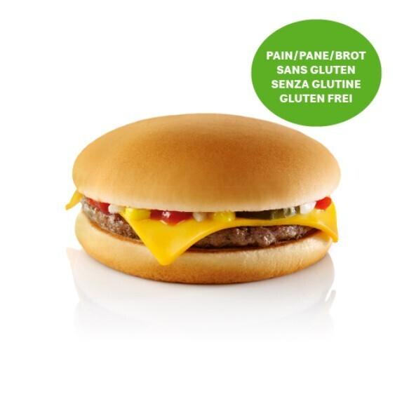 Cheeseburger Sans Gluten
