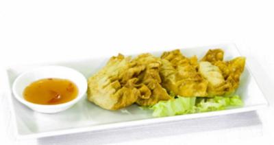 Raviolis Frits aux Crevettes et Porc