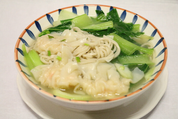 Soupe Raviolis aux Crevettes