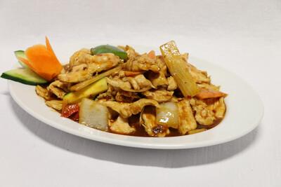 Poulet Sauté à la Sauce Sichuan