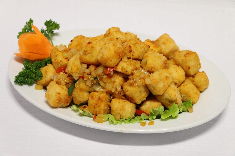 Beignets de Tofu Sel et Poivre