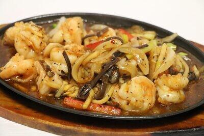 Crevettes au Poivre Noir