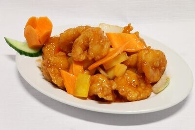 Crevettes à la Sauce Aigre-Douce