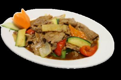 Canard Sauté à la Sauce Sichuan