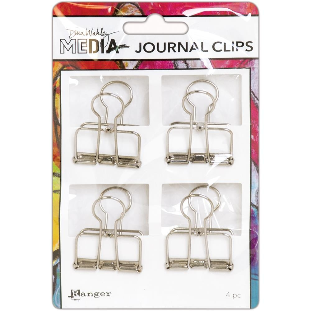 Dina Wakley Media Journal Clips Large