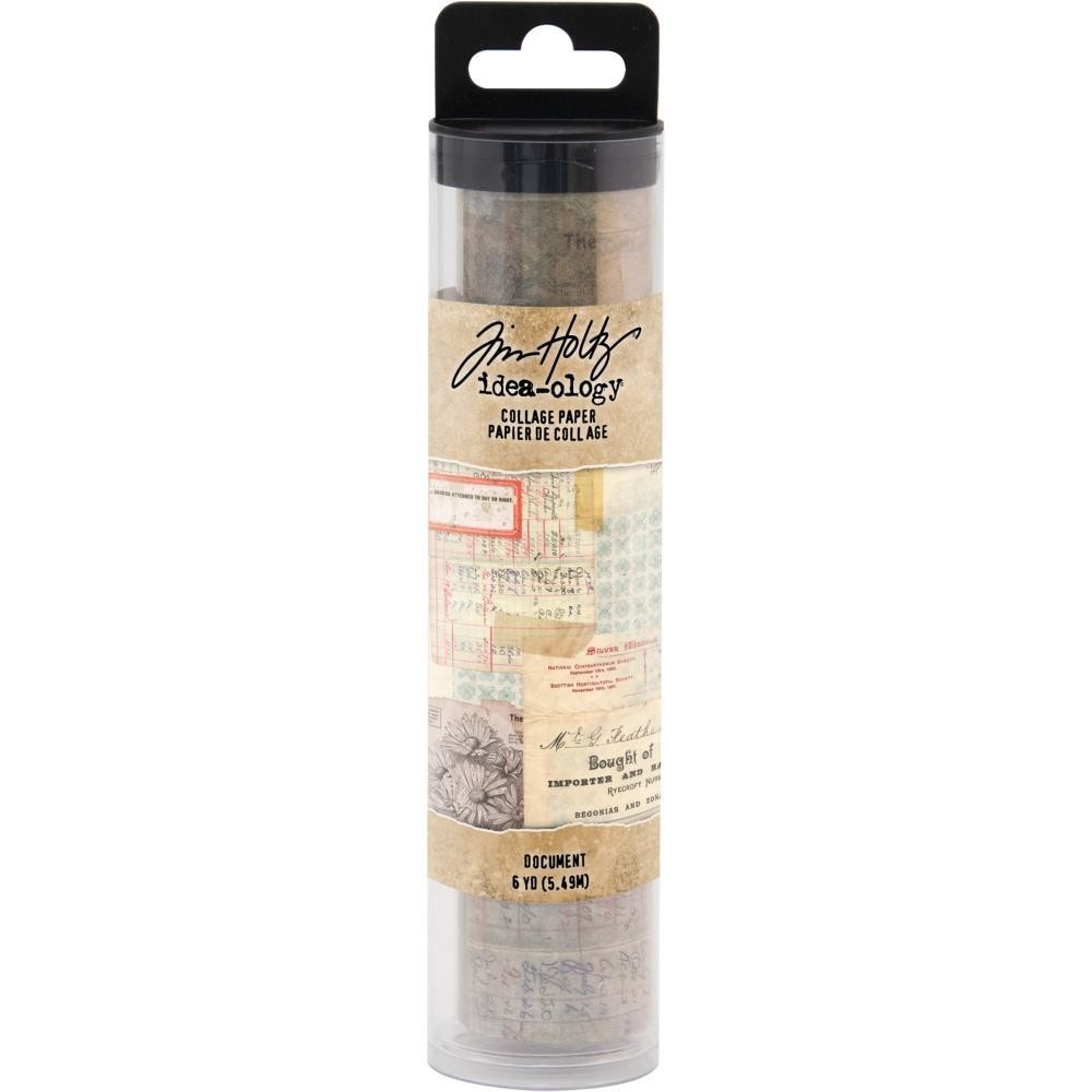Tim Holtz Idea-Ology Collage Paper Document