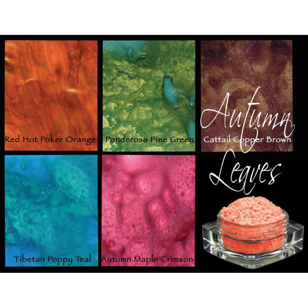Lindy's Stamp Gang Magicals Pigment Powder Set of 5 - Assorted