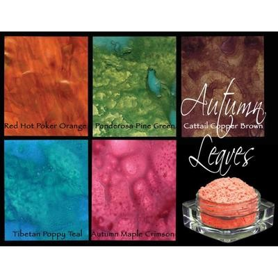 Lindy's Stamp Gang Magicals Pigment Powder set of 5