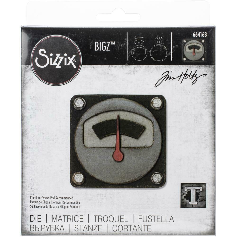 Tim Holtz Sizzix Bigz Die Voltage