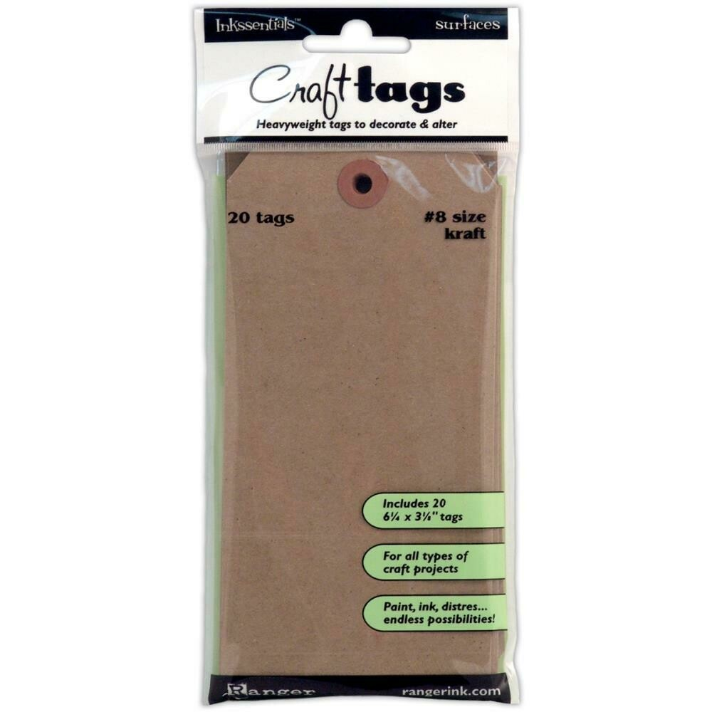 Ranger Craft Tags - Assorted