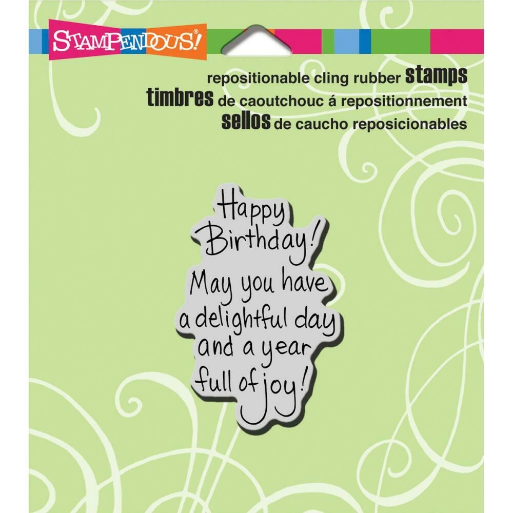 Stampendous Cling Stamps - assorted
