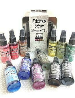 PREORDER Tim Holtz Distress Oxide Sprays set 3 released August 2019