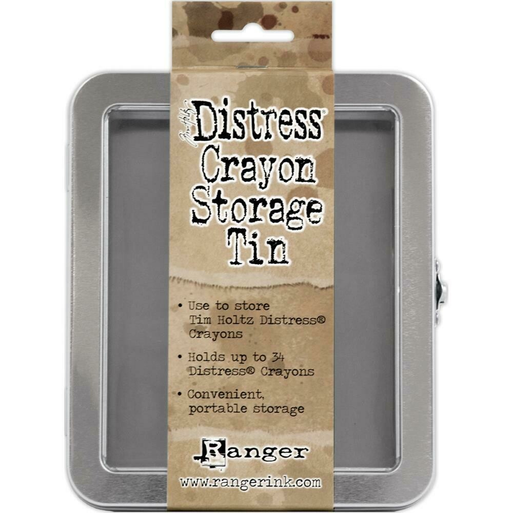 Tim Holtz Distress Crayon Storage Tin
