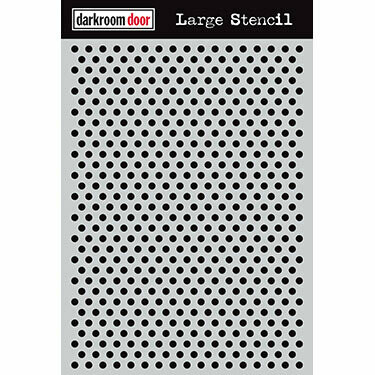 ​Darkroom Door Stencil Large